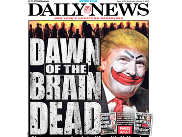 donald-trump-blasts-worthless-daily-news-after-paper-mocks-his-zombie-supporters